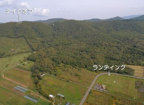 赤井川エリア全景