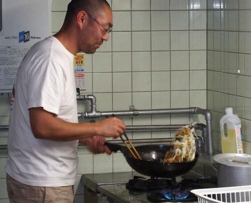 趣味は料理です。