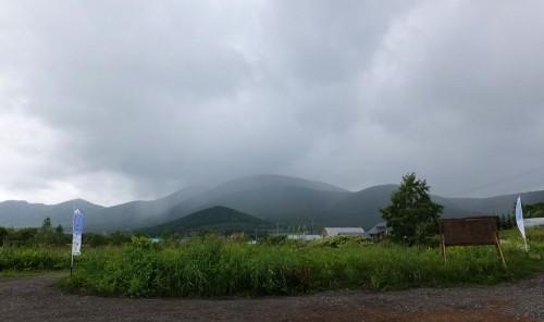 千葉さんは午前で仕事へ~入れ替わりで長池さん。昼過ぎは西から雨雲が・・・。GPV当たりました。