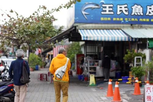 「王氏魚皮」これもスマホで検索し、人気店!