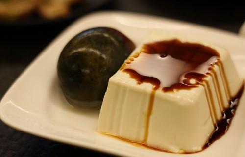 ピータン。必ず豆腐が付いています。ねっとりしていておいしかった~