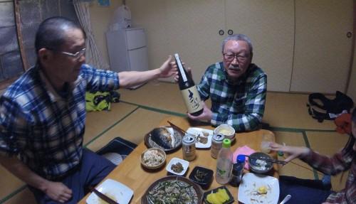 金森さんから日本酒の差し入れ~