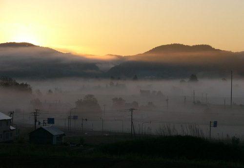 札幌近郊も雲海!