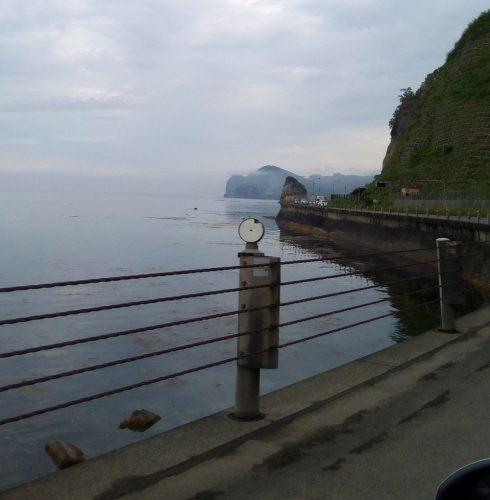 小樽の海は、湖か!ってくらい穏やかでした。