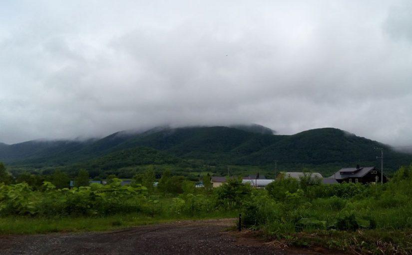 6/18(土) 霧雨の赤井川