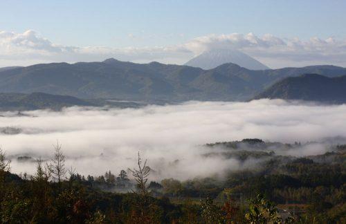 07:00過ぎですが、雲海見えました~
