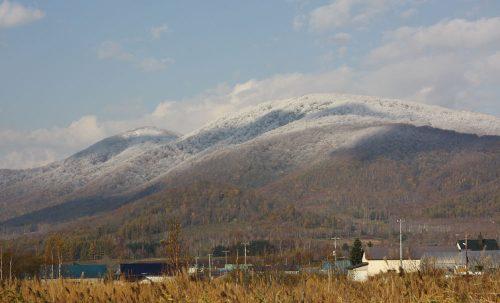 大黒山は雪化粧~