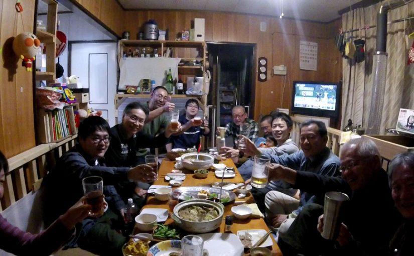 11/12(土) 岡田さん月に着陸!?からの忘年会!
