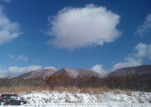 昼頃にはブロー!こんな雲も!