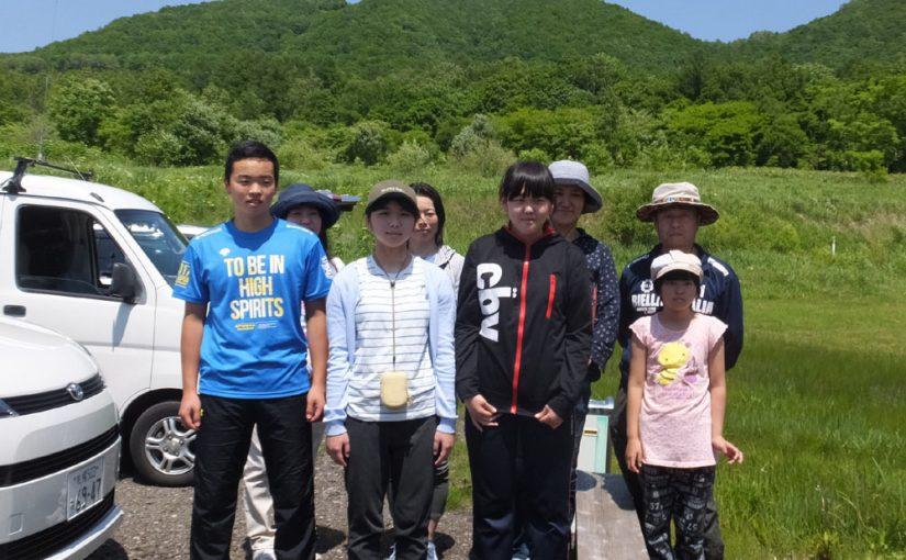 6/18(日) 赤井川中学生タンデム開始!