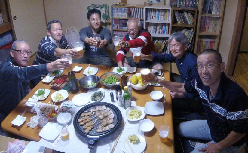 8/12(土) 室内焼肉で盛り上がる!
