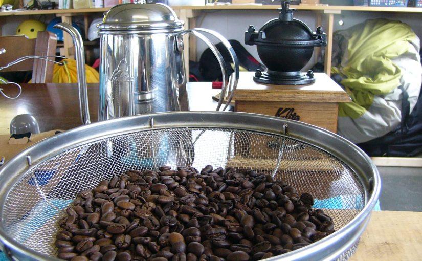 コーヒーを焙煎しよう!